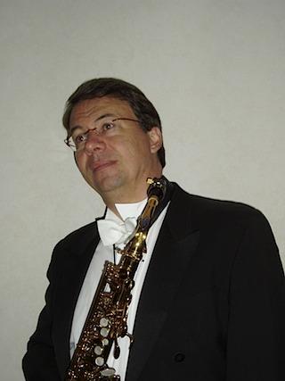 De gehele dag staat in het teken van de saxofoon, johan van der linden